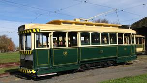 Hire a tram - Ballarat four wheeler
