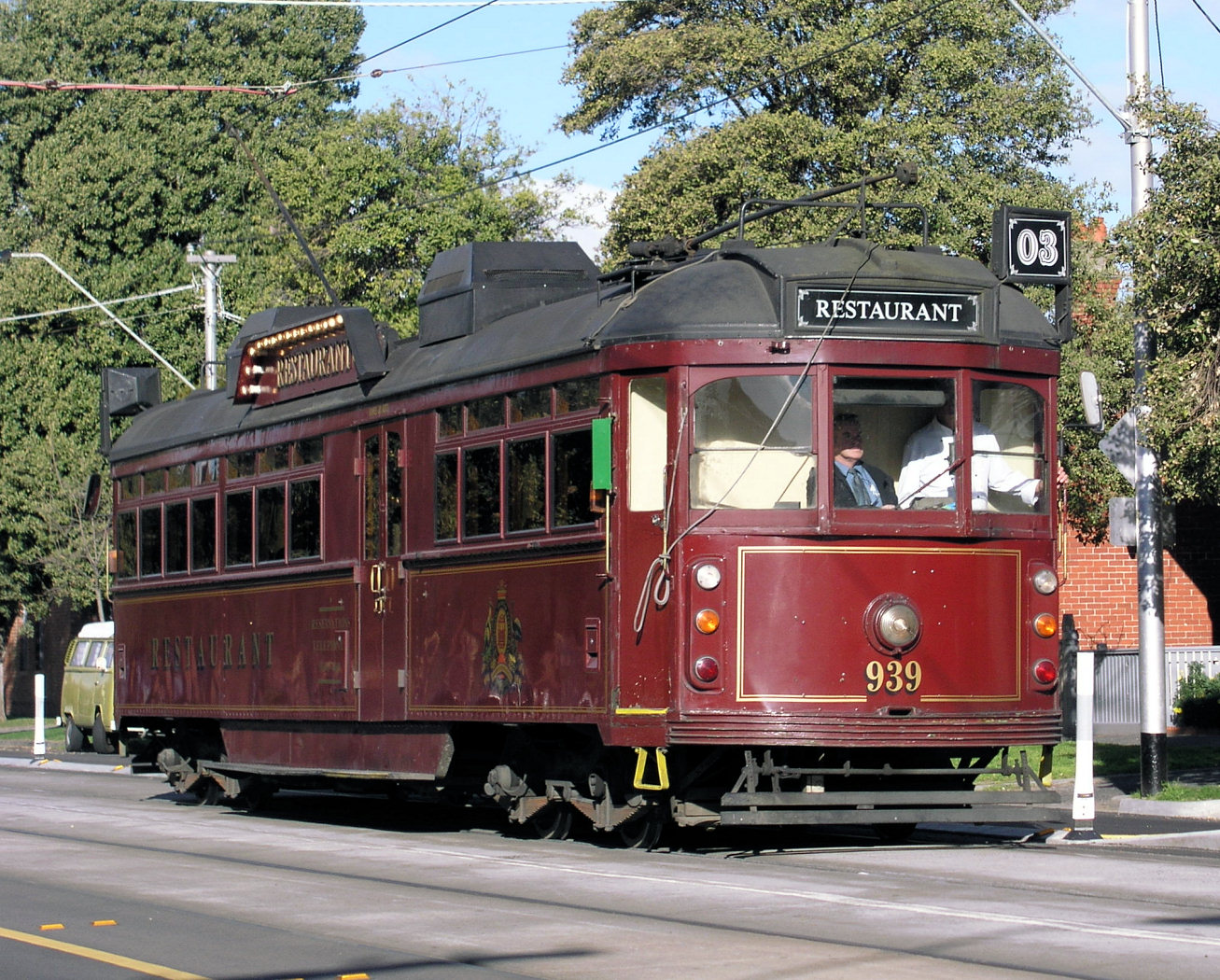 tram 939 - 18 July 2004 - Photo Mal Rowe