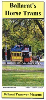 our horse tram brochrue