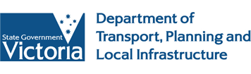 Dept of Transport Planning and Local Infrastructure logo