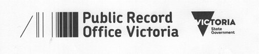 Public Records Office of Victoria and State Government logo