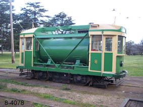 No. 8 following repainting in MMTB livery - 20/9/2008 Photo Warren Doubleday