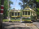 bogie trams 38 and 40